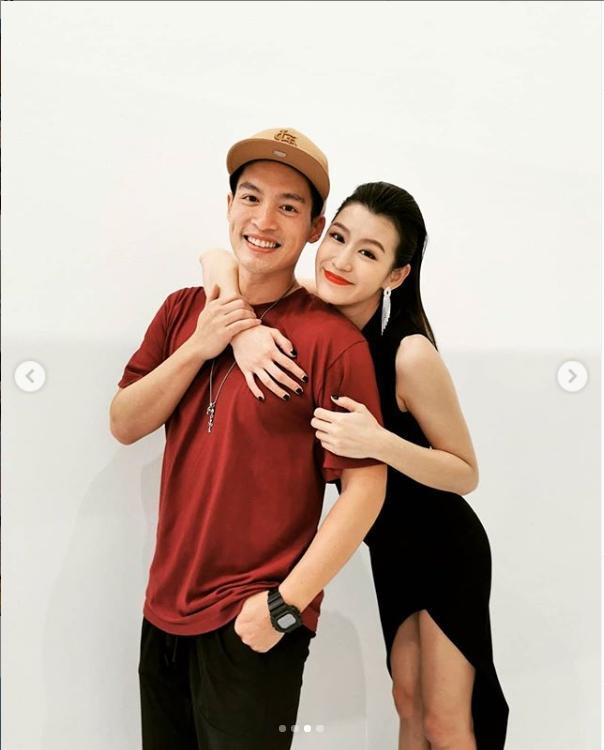 <br> ▲許孟哲上月23日無預警地宣布太太趙孟姿懷孕的喜訊。(圖/翻攝趙孟姿IG)