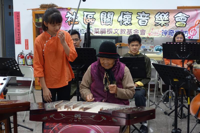 神奇樂坊國樂演奏 伴社區民眾好時光