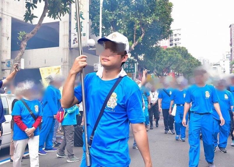▲無辜遭捅的 33 歲的林姓男子。(圖/翻攝自臉書)