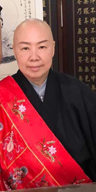 <br> ▲70歲的恆述法師是張菲與費玉清的姐姐。(圖/翻攝恆述法師臉書)