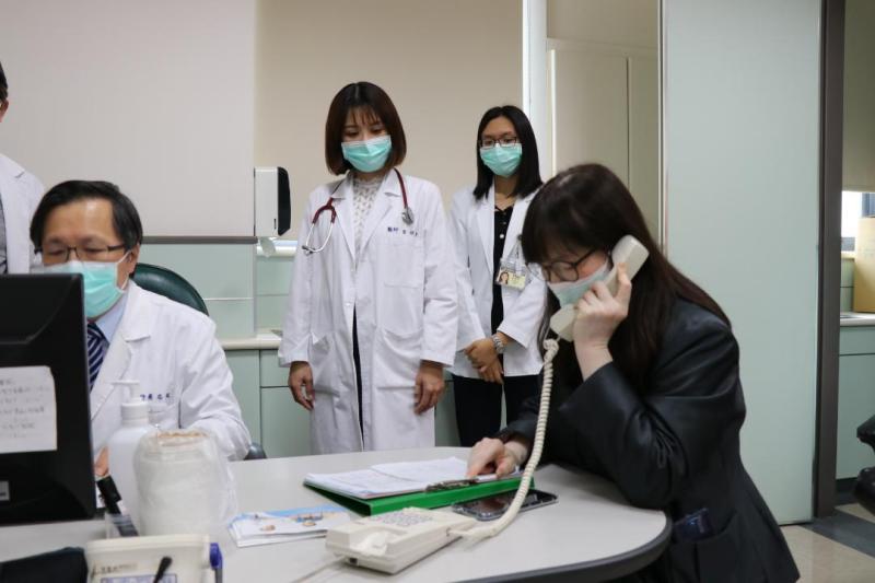 嘉市首例視訊診療 嘉基防疫安心就醫