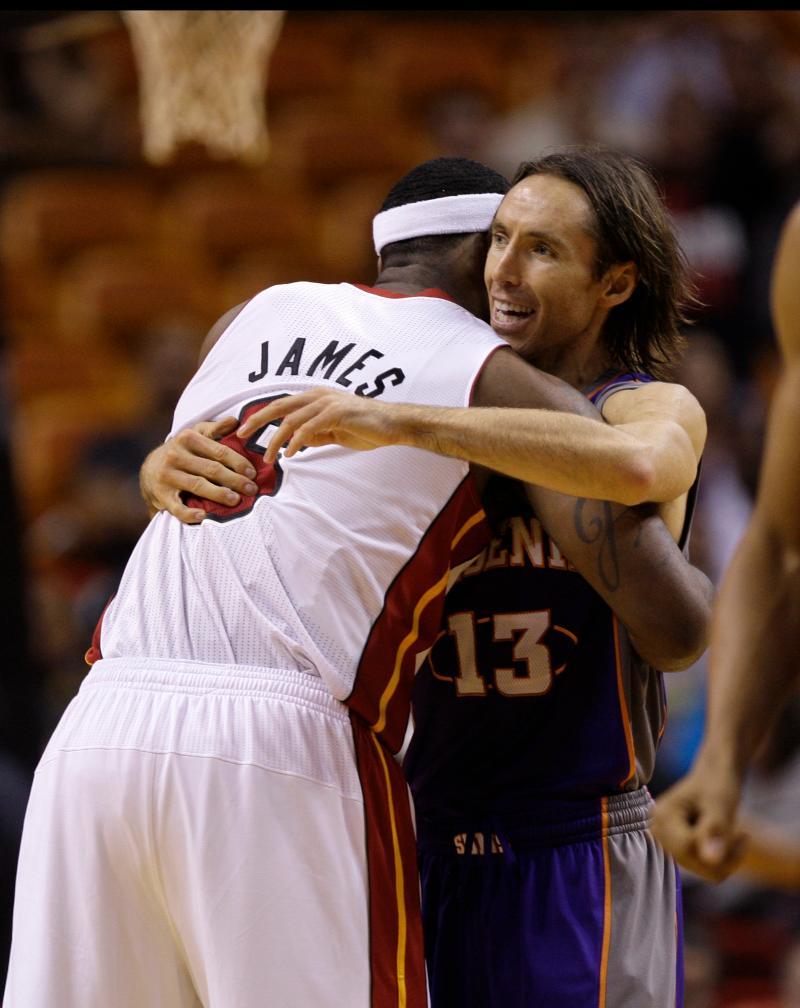LeBron James, Steve Nash