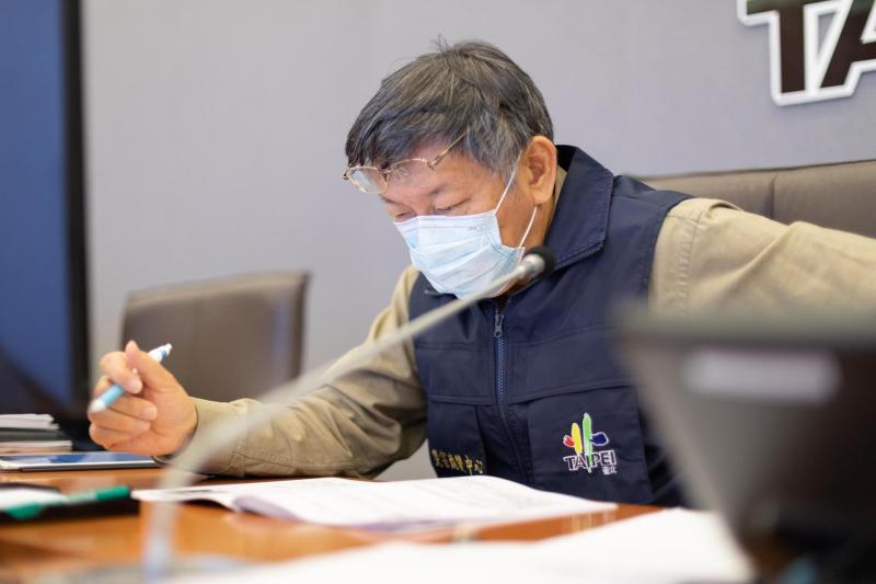 台北市長柯文哲。(圖/柯粉俱樂部提供)