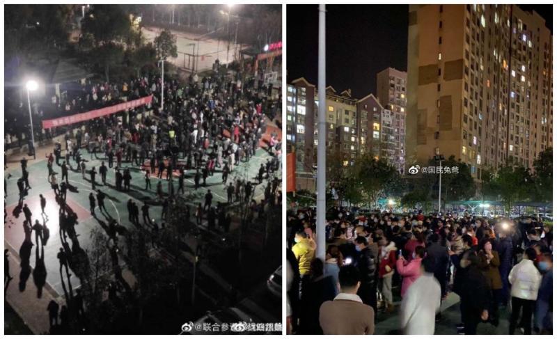 湖北民眾抗議菜價高昂 當地政府稱:沒事兒、就地解散