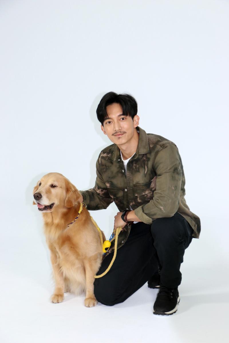 <br> ▲ 王家梁劇中飾演前傭兵。(圖 / LINE TV提供)