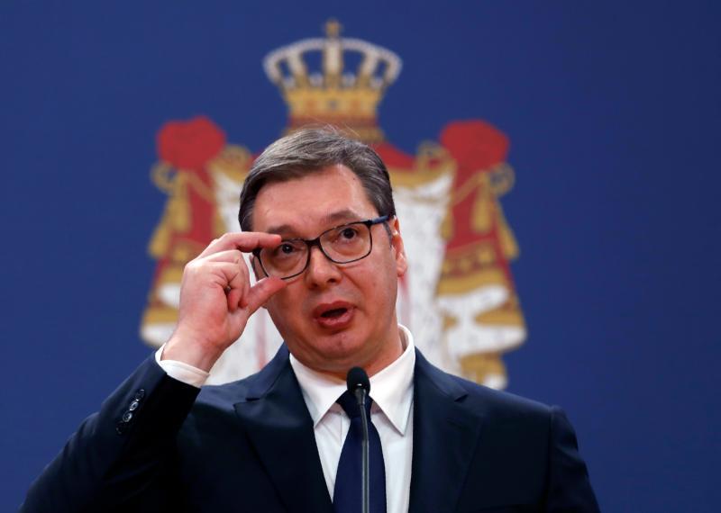 ▲塞爾維亞總統武契奇。(圖/美聯社/達志影像)