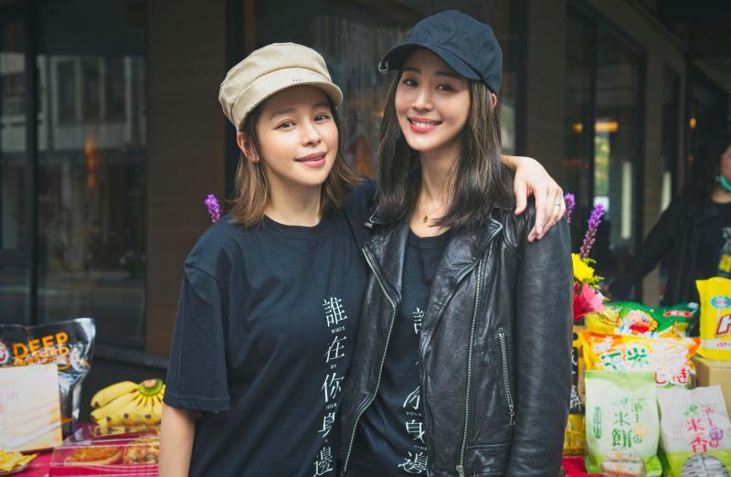 ▲張鈞甯(右)與徐若瑄(左)熟識已久,首次同台演出。(圖 / 頤東娛樂提供)
