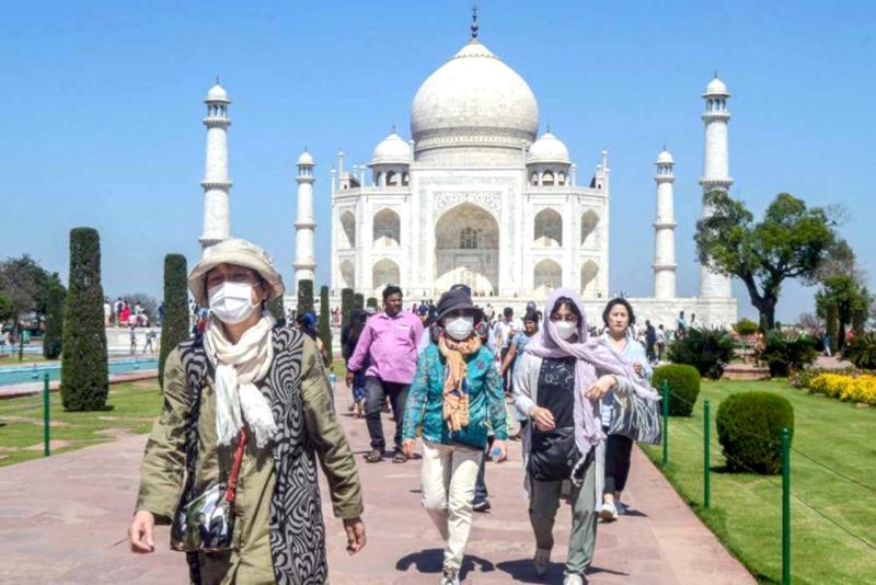印度防疫擴大封鎖 各博物館、泰姬瑪哈陵關閉至3月31日