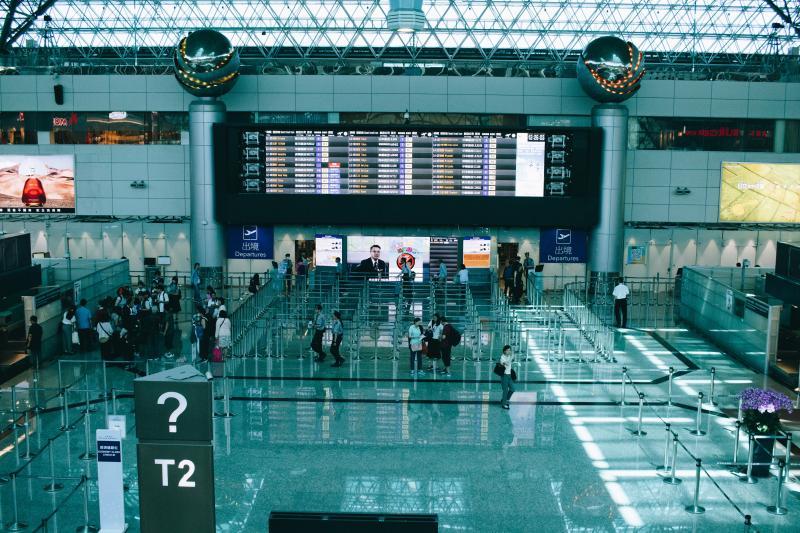 ▲桃園國際機場。(示意圖/取自 Unsplash )