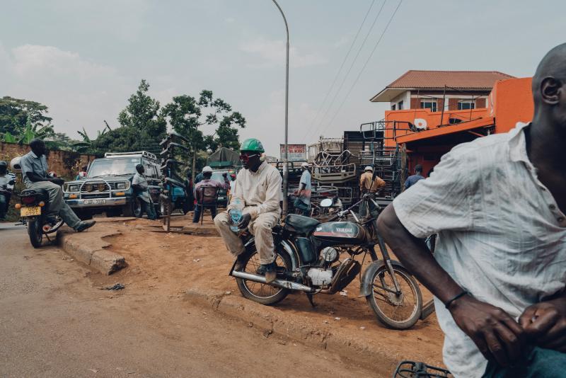 ▲烏干達首都坎培拉一隅。(示意圖/取自 Unsplash )