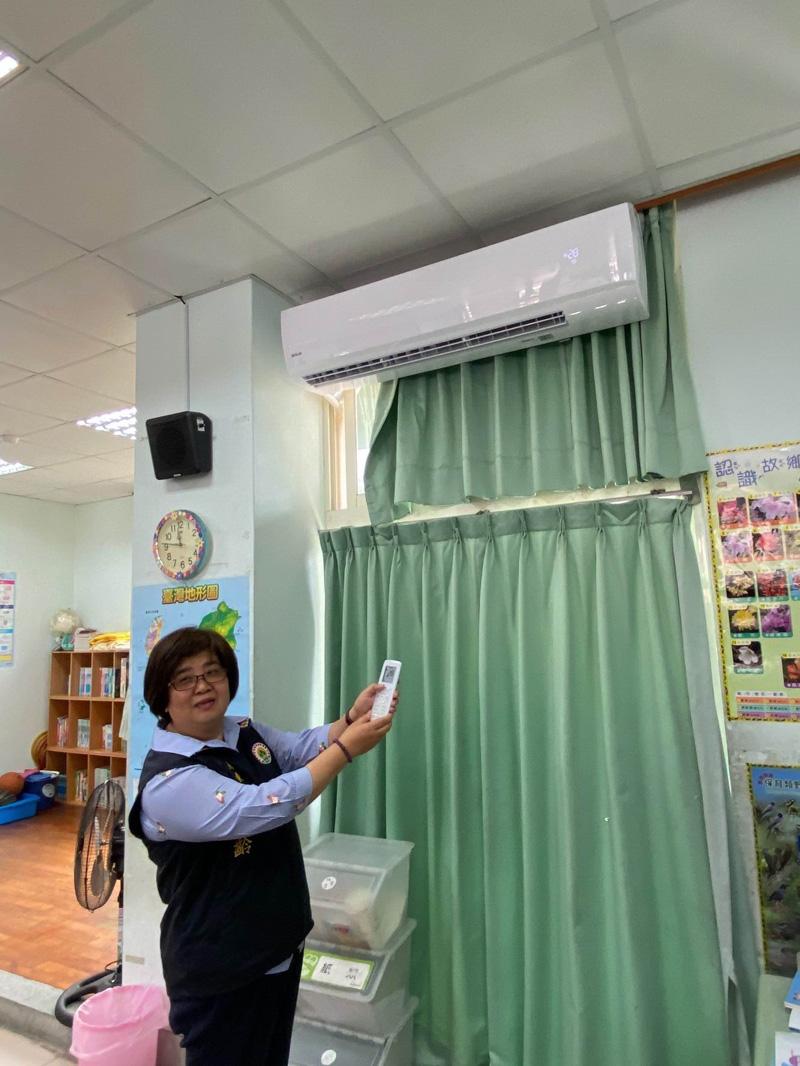 羅東國中小班班有冷氣 公所安裝使用者付電費