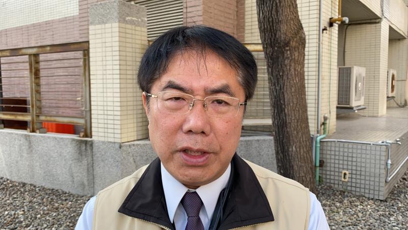 ▲台南市長黃偉哲表示,針對疫情衝擊影響,地方稅是否減稅,將在6、7月間研議。(圖/記者陳聖璋攝,2020.03.18)