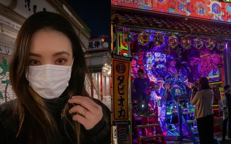 ▲歐陽靖透露日本街上仍能看到歐洲人。(圖/翻攝歐陽靖臉書)