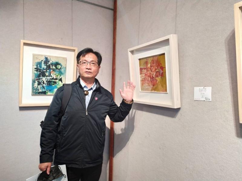 影/藝術饗宴在彰化 台灣現代繪畫導師李仲生<b>師生聯展</b>
