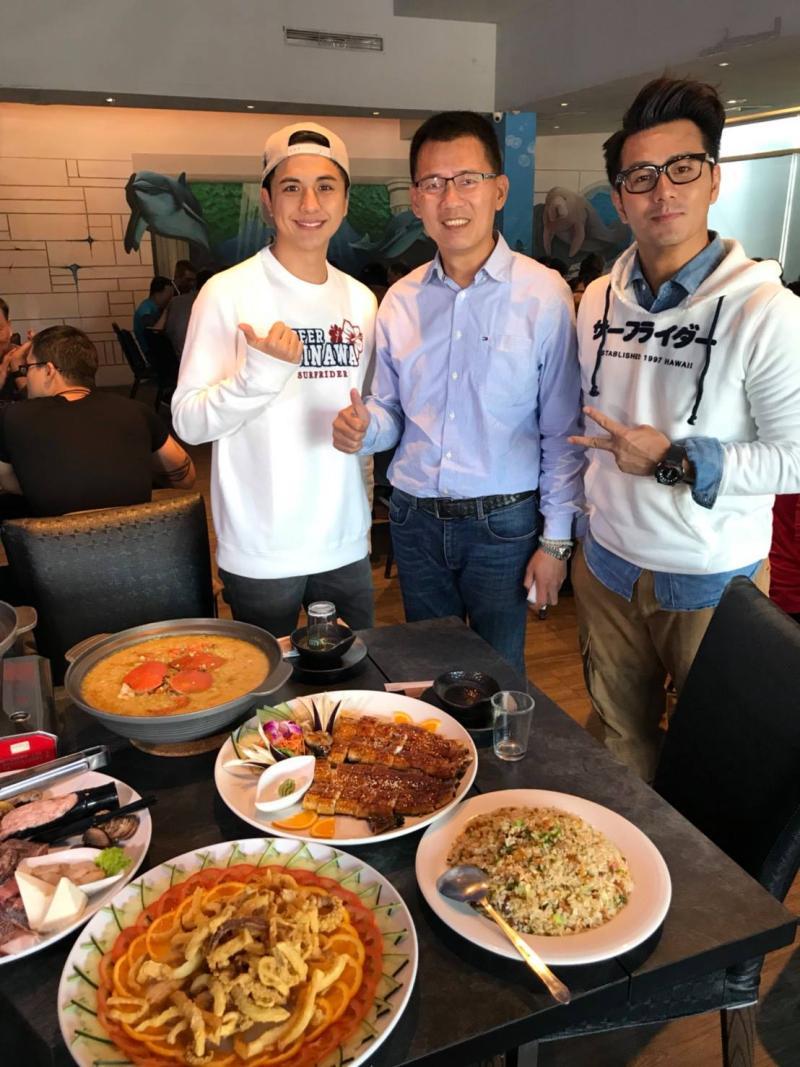 <br> ▲人氣美食節目也曾介紹丸傑水產餐廳。(圖/記者陳聖璋翻攝)