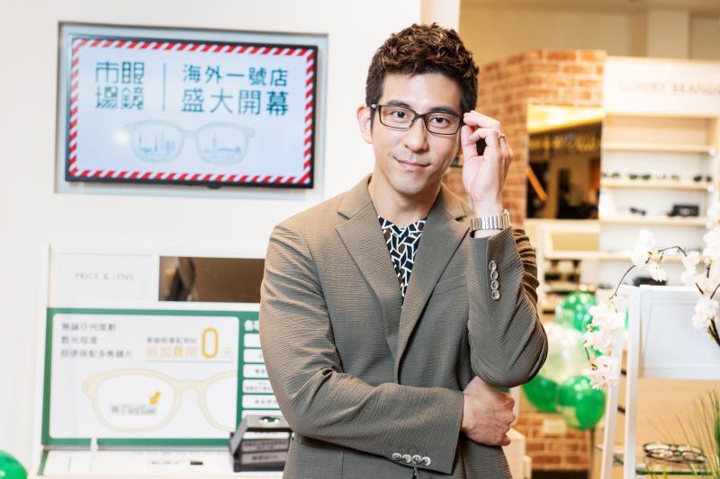 ▲修杰楷出席眼鏡品牌活動。(圖 / 眼鏡市場提供)