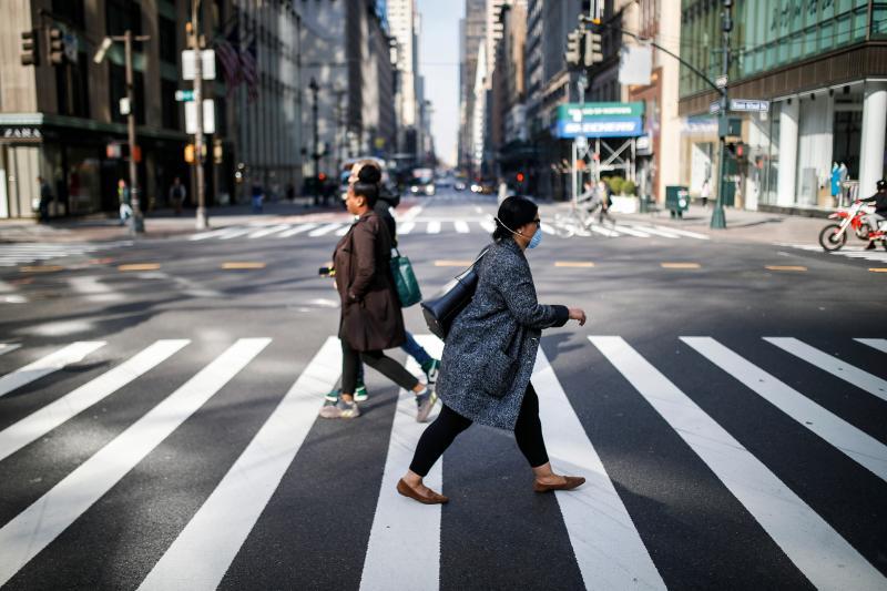 ▲圖為近日紐約市街頭。(圖/美聯社/達志影像)