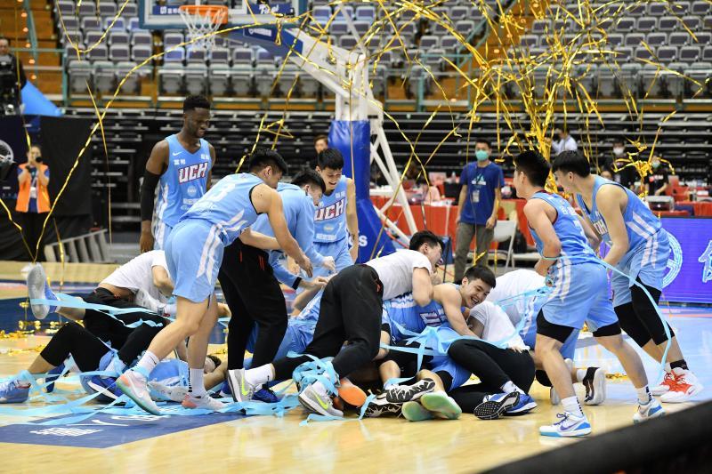 UBA/4年內3冠1亞!擊敗台師大 健行締造首次2連霸