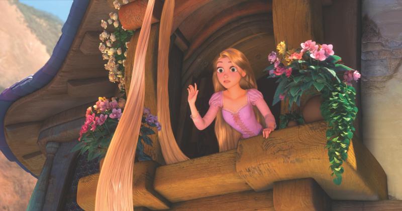 ▲《魔髮奇緣》主角樂佩被困在高塔上 17 年。(圖/翻攝 Rapunzel 臉書)
