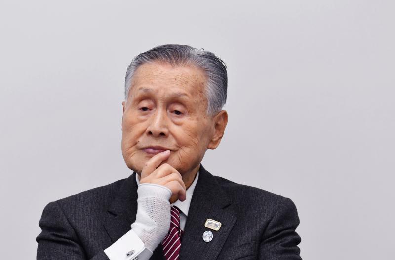 JOC President Mori attends press conference