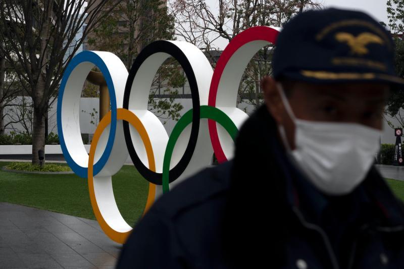 ▲新冠肺炎疫情嚴重影響東京奧運地舉行。(圖/美聯社/達志影像)