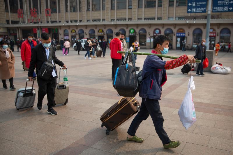▲中國湖北省從3月25日起,除武漢市以外地區恢復對外交通。(圖/美聯社/達志影像)