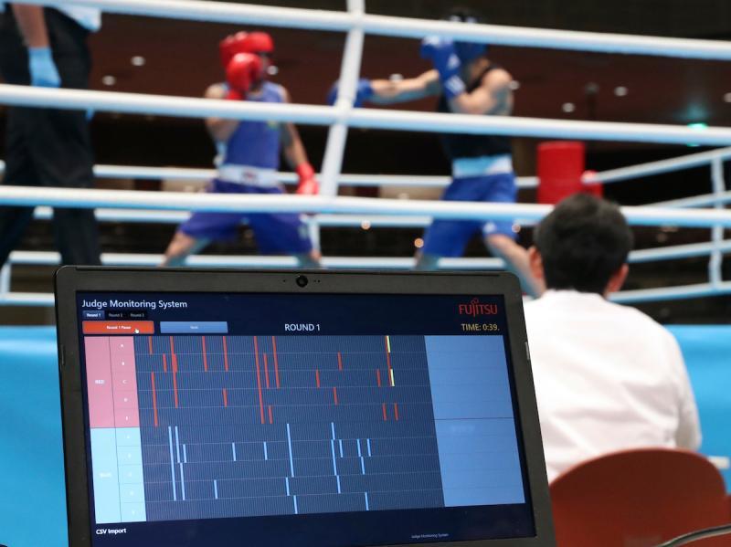 兩名土耳其拳擊手因東京奧運資格賽染疫。(圖/美聯社/達志影像)
