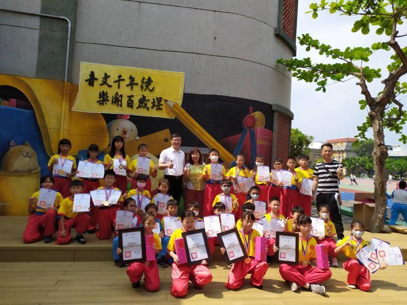 影/縣長盃武術錦標賽 <b>文開國小</b>奪團體4冠王、個人10金