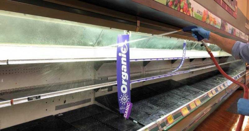 ▲位於美國賓州的超市遇到惡質大媽對商品狂咳,損失慘重。(圖/翻攝臉書 Gerrity's Supermarket )