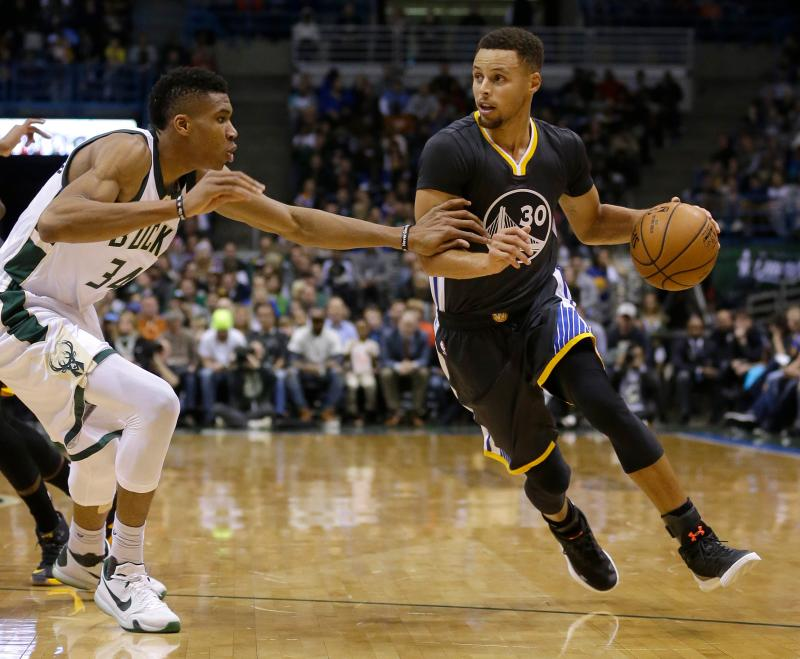Stephen Curry, Giannis Antetokounmpo