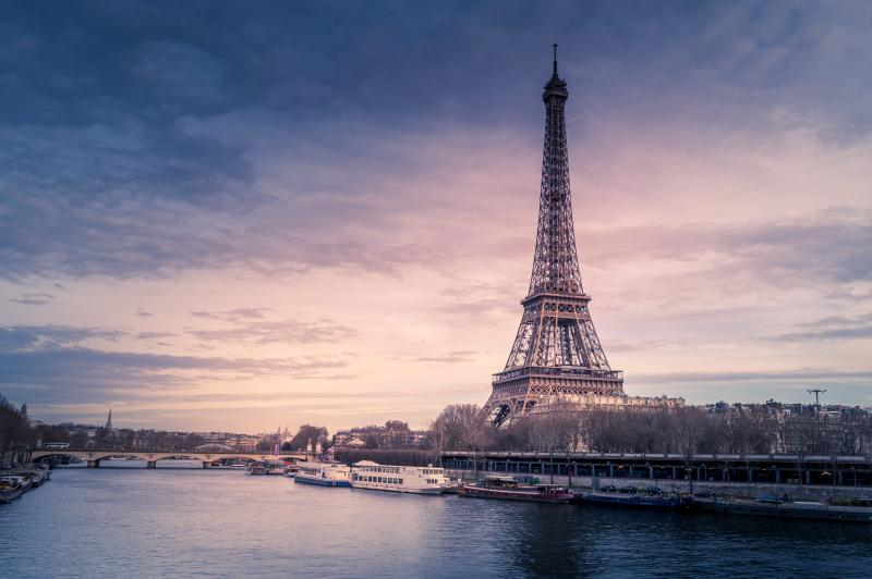 ▲法國巴黎知名地標艾菲爾鐵塔。(示意圖/取自 Unsplash )