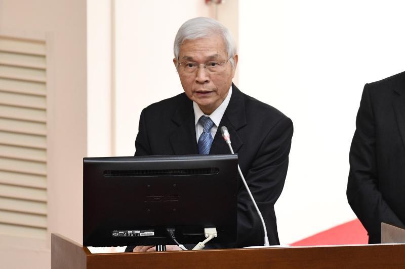 ▲中央銀行總裁楊金龍。(圖/記者林柏年攝,2020.3.30)