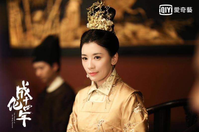 賈靜雯睽違6年再披古裝 化身「萬貴妃」與成龍合作