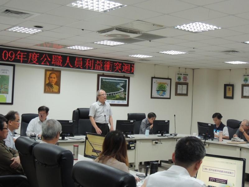 西濱南工處推行廉政強化法治教育