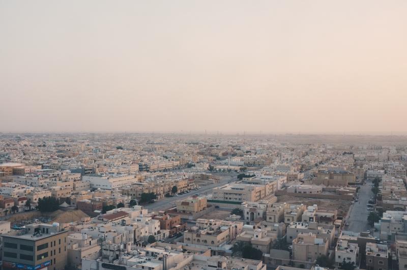 ▲沙烏地阿拉伯首都利雅德。(示意圖/取自