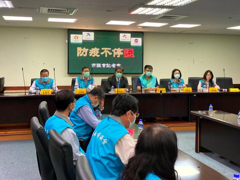 防疫不停議!台南市議長郭信良表示,台南市議會已準備好了,定期會如期舉行
