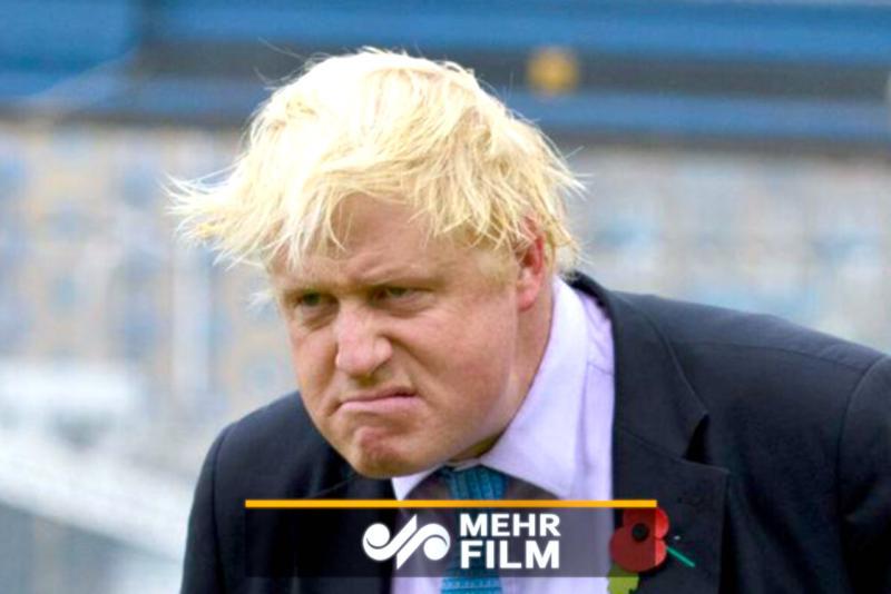 ▲英國首相強生。(圖/翻攝自 Mehr News Agency )