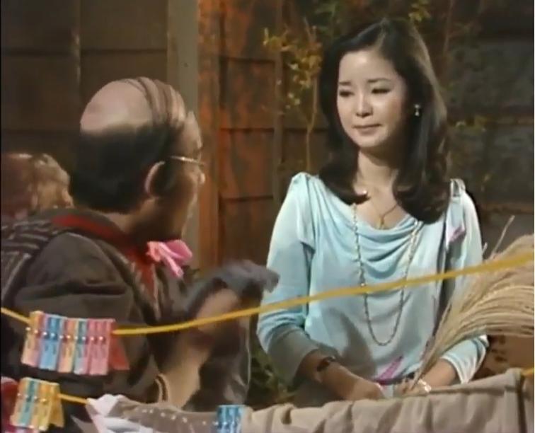 <br> ▲鄧麗君(右)生前時常現身《志村大爆笑》。(圖/翻攝 sk Hsu YouTube)