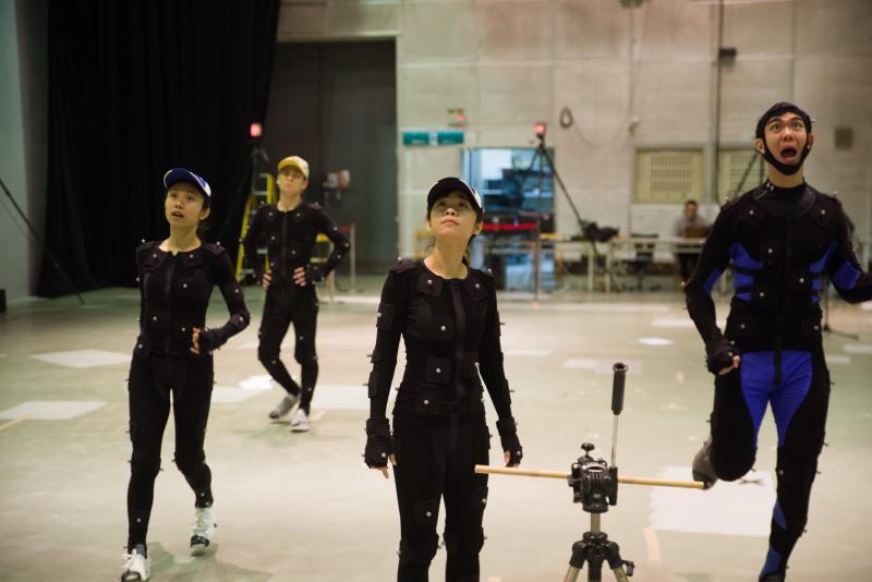 <br> ▲《熊星人-希堤星系迷航記》劇中的3D動畫運用了「動態捕捉」技術。(圖/公視提供)