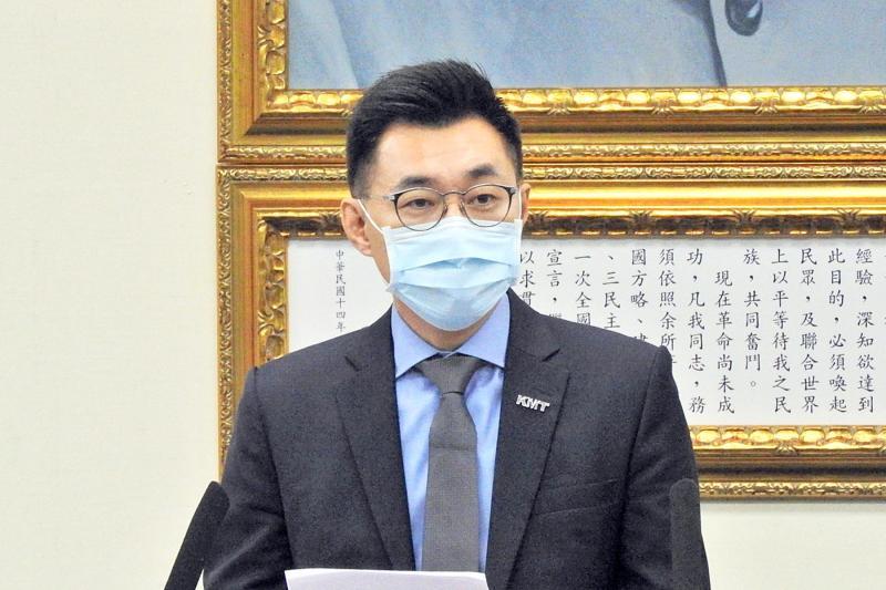 <br> 國民黨主席江啟臣。(圖/記者陳弘志攝)