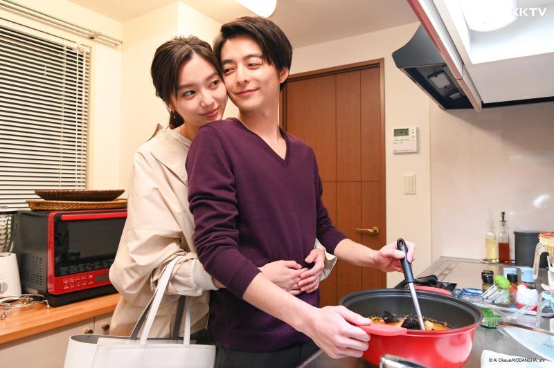 <br> ▲《Guilty這個戀愛有罪嗎?》由新川優愛、小池徹平主演。(圖/KKTV)