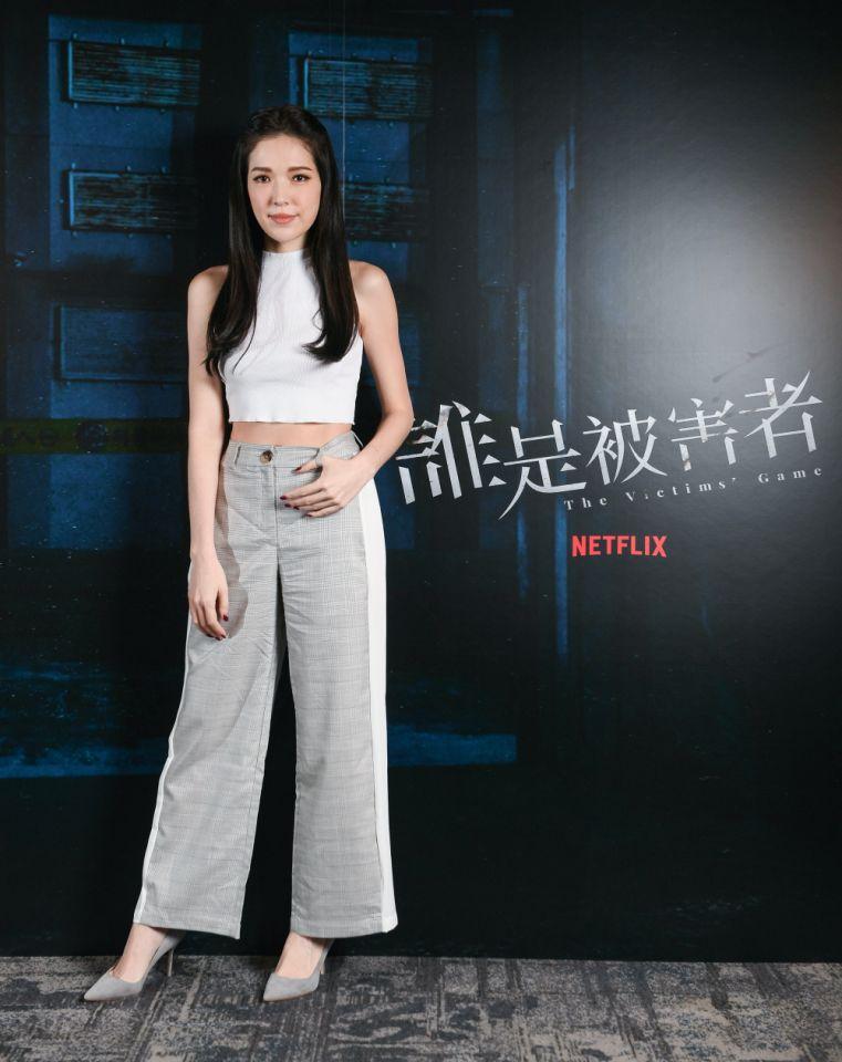 <br> ▲許瑋甯否認秘婚傳言。(圖 / Netflix提供)