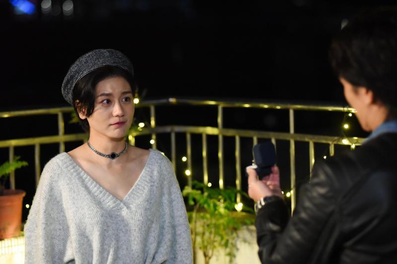 <br> ▲現實生活中,邵翔(右)已向小蠻求婚。(圖 / 緯來提供)