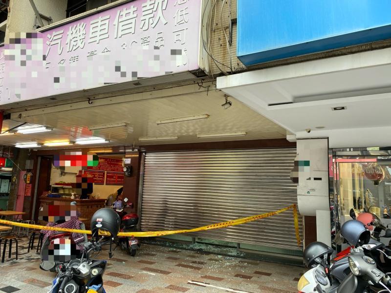影/連開6槍!台南金華路當鋪遭開槍示警