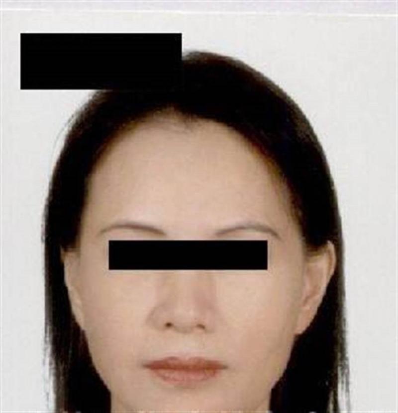 <br> ▲警方提供死者林姓婦人的照片,請民眾協助指認。(圖/記者郭凱杰翻攝,2020.04.04)