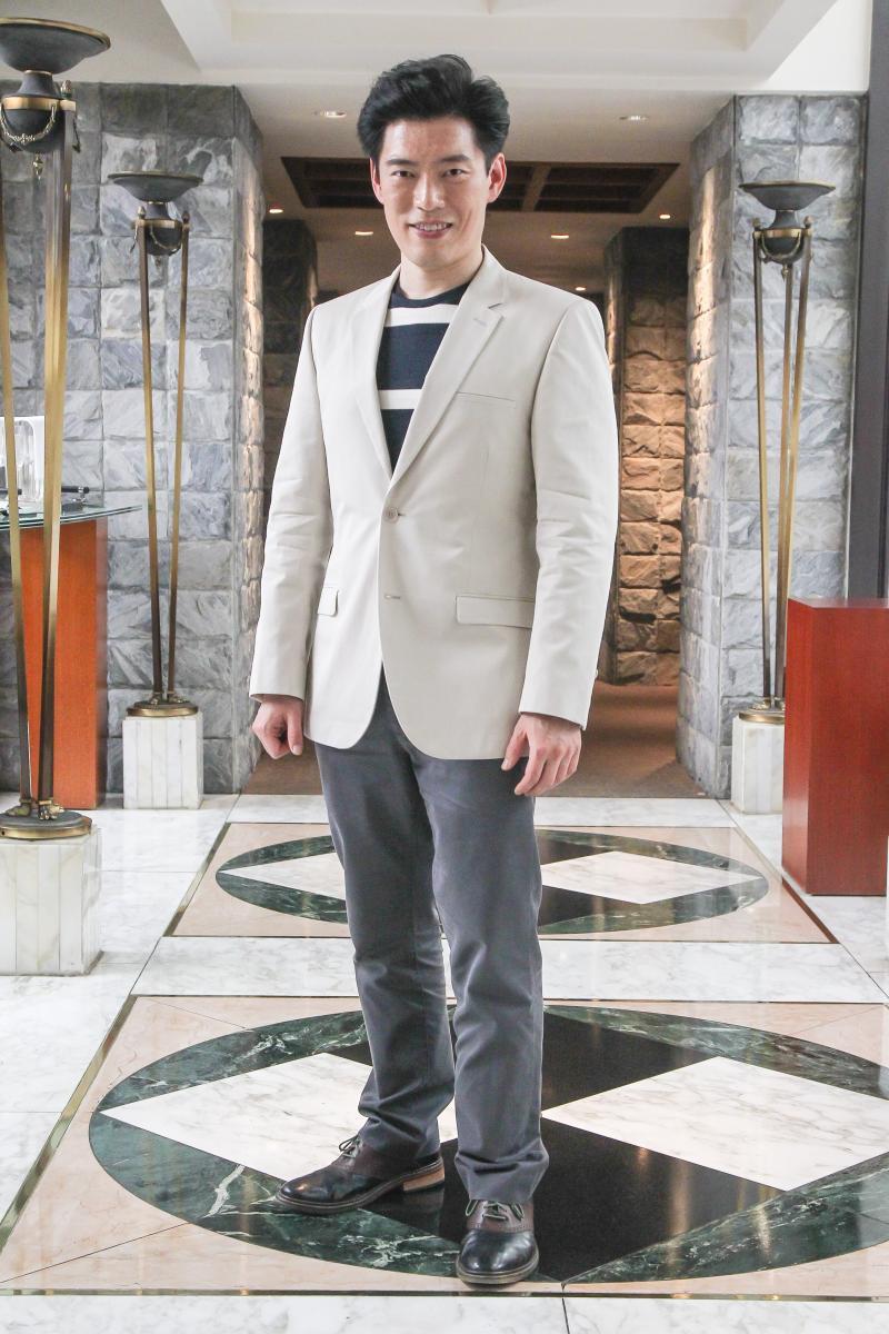 <br> ▲王凱傑的新節目《摘星秘密客》已在亞洲旅遊台播出。(圖/記者葉政勳攝影)