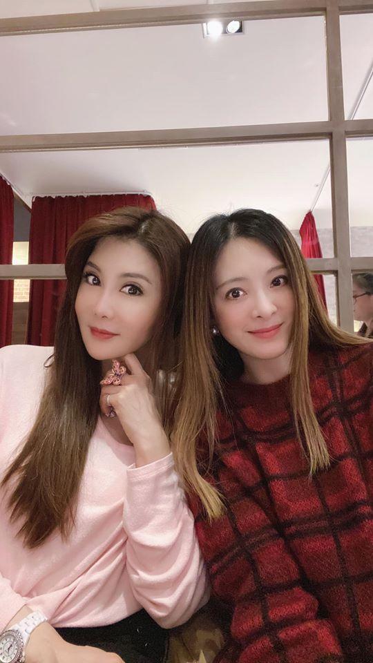 <br> ▲楊麗菁(左)和劉真(右)是20年好閨密。(圖/翻攝楊麗菁臉書)