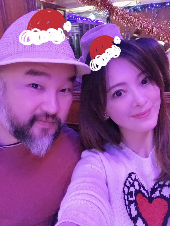 <br> ▲劉真(右)生前和老公辛龍感情甜蜜。(圖/翻攝臉書)