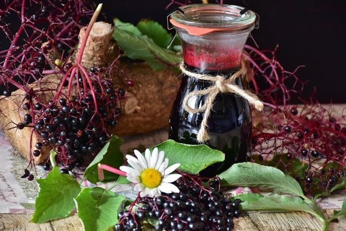 ▲在歐洲盛行已久的接骨木莓成英國人瘋搶的物資。(圖/資料照片)