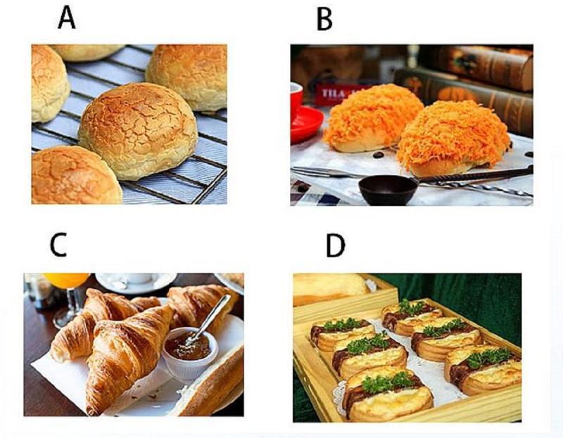 ▲藍色星期一無幹勁?選一個想吃的麵包,秒解你的「今日運勢」。(圖/翻攝自Look Pretty)
